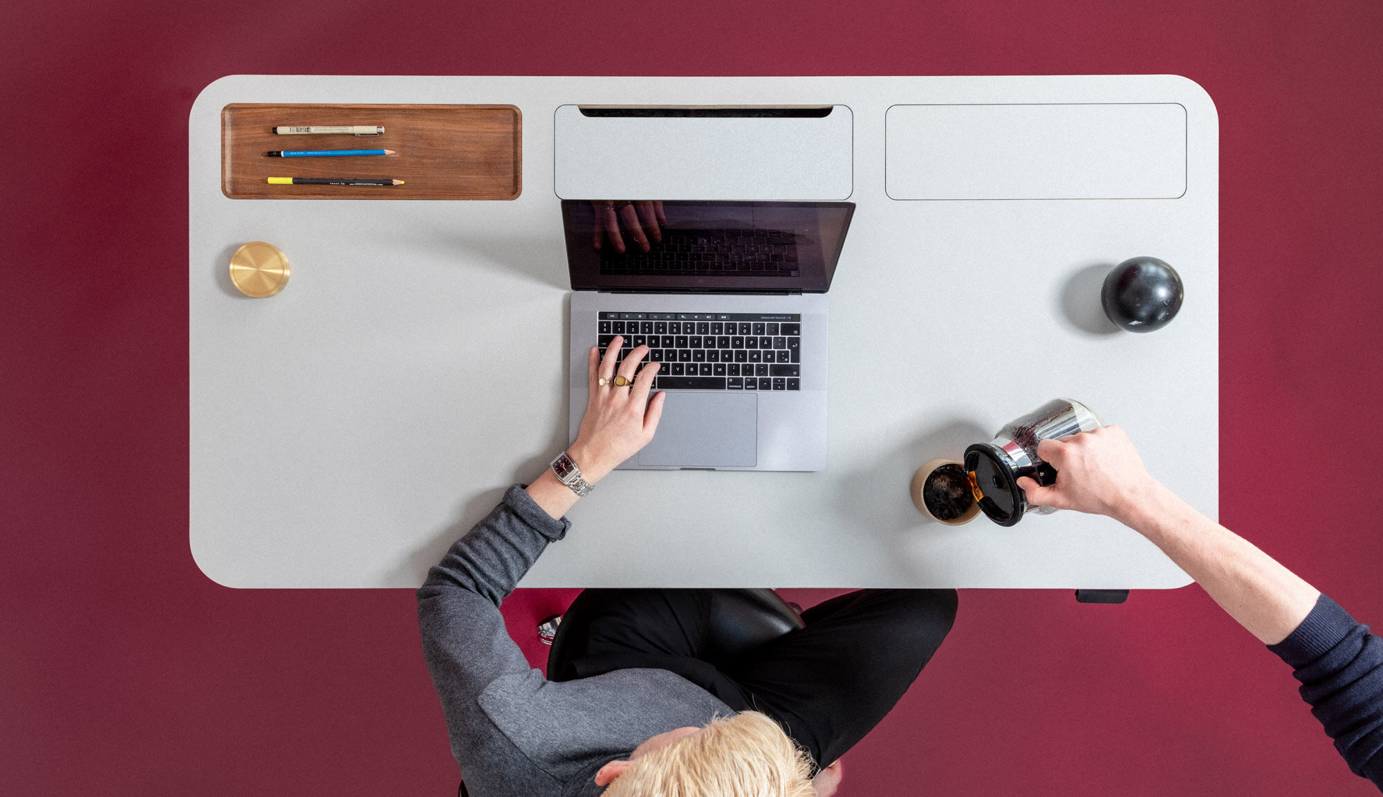 Danish Startup Stykka Has Designed The World's First Entirely Recyclable, Sustainable and Open-Source Desk