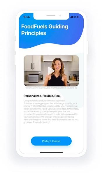 Foodfuels app design 6