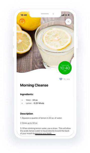 Foodfuels app design 11