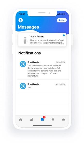Foodfuels app design update 7