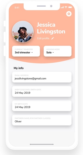 How to use Lean Startup in Yoga app? Yogibirth Profile