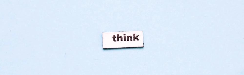 think. main startup phrase