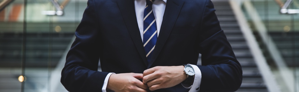 Investor lists for your startup. man in suit. how to find investor for a startup business