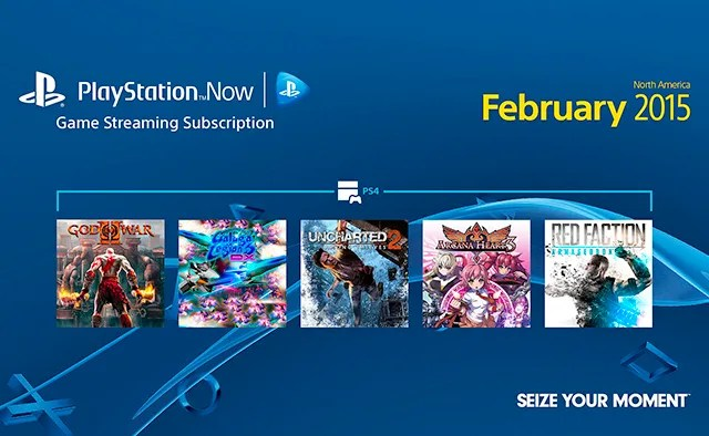 Playstation Now Subscriptions February Games Lineup