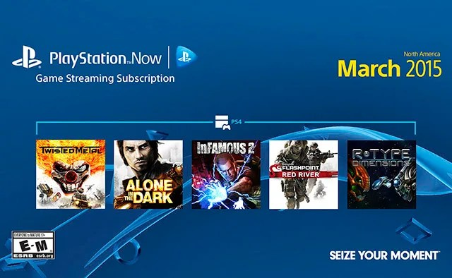Playstation Now Subscriptions New For March 2015