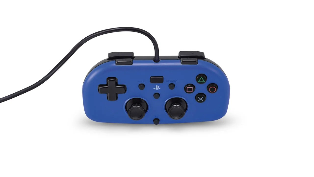 introducing the mini wired gamepad for ps4 [ 1280 x 720 Pixel ]
