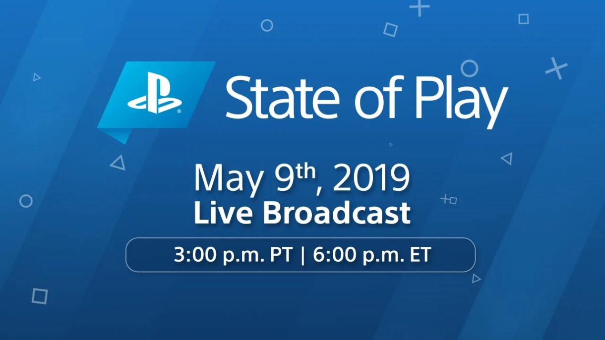 New State of Play Lands May 9 at 3:00pm Pacific Time