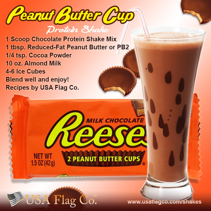 Peanut Butter Cup Protein Shake Recipe From Usa Flag Co