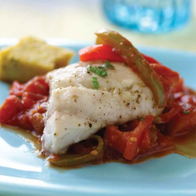 Baked Red Snapper Recipe with Zesty Tomato Sauce
