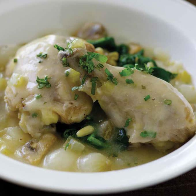 Fricassee Chicken Recipe
