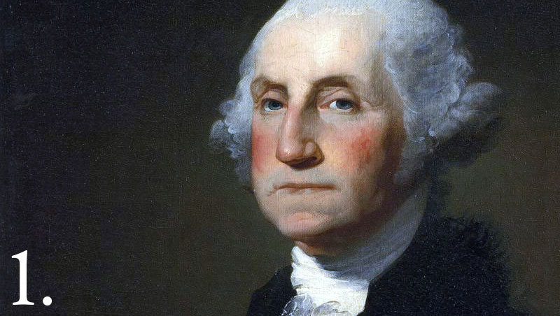 President George Washington was born in 1732 into a Virginia planter family, he learned the morals, manners, and body of knowledge requisite for an 18th century Virginia gentleman.