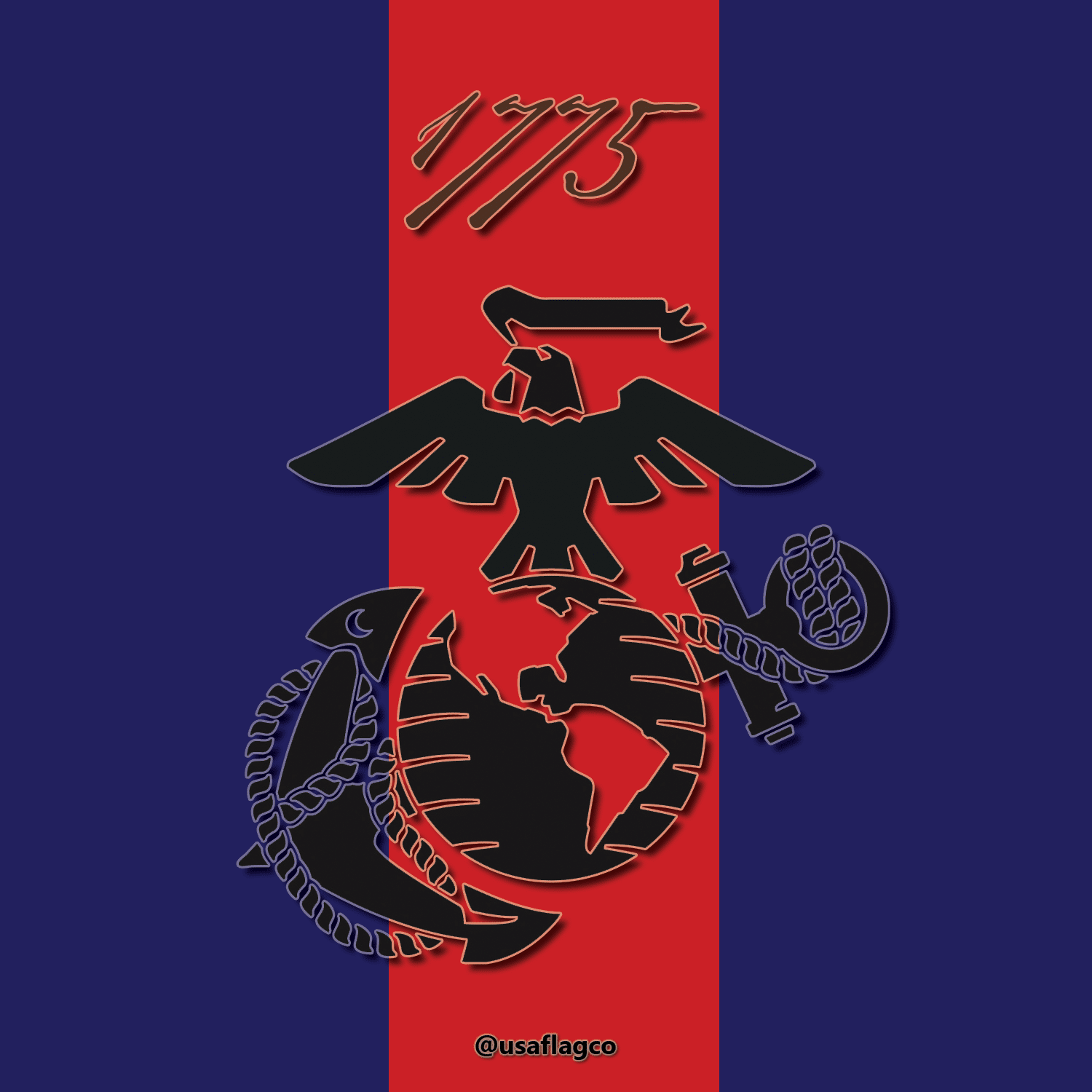 The United States Marine Corps was created on Nov. 10, 1775, when the Continental Congress resolved that two Battalions of Marines be raised to serve as landing forces.