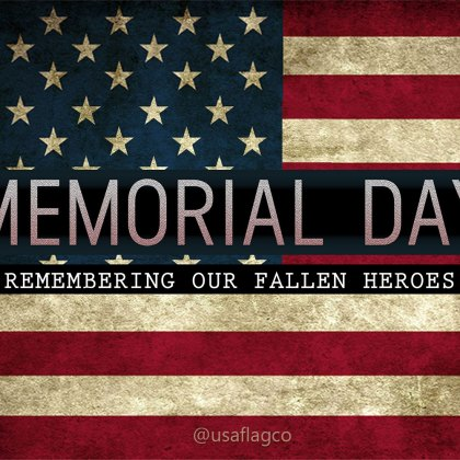 In honor of the brave men and women who have given their lives... And those who bravely fight today... THANK YOU! Happy Memorial Day!!