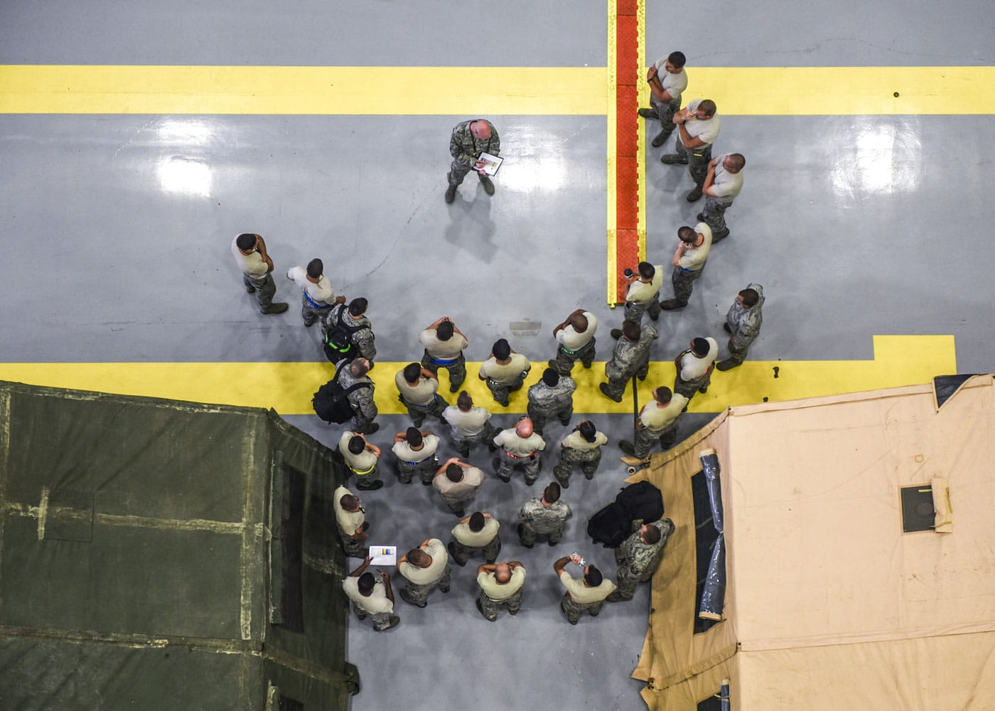 KC-130 maintainers from across the U.S. take roll during Mobility Guardian, Joint Base Lewis-McChord.