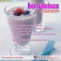 Berrylicious Protein Shake