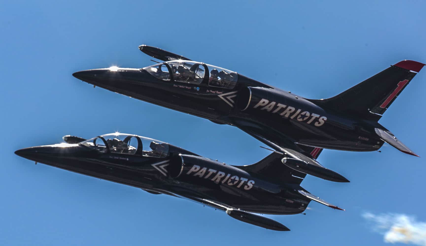 The Patriots Jet Team features several performances and displays recognizing the sacrifices of Vietnam veterans.