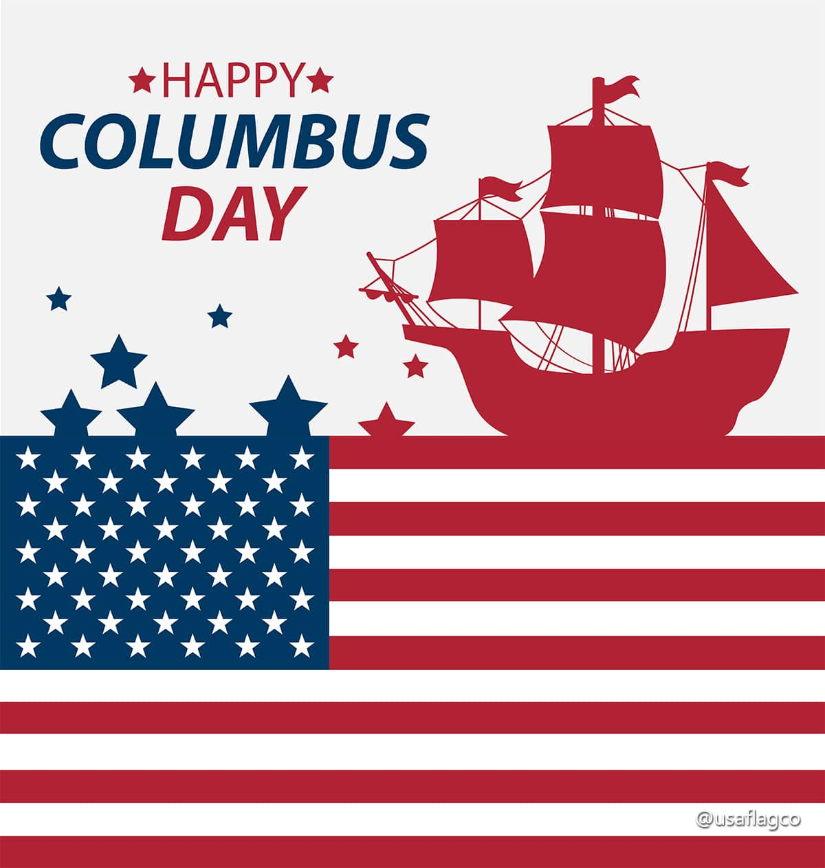 Following the light of the sun, we left the Old World. - Christopher Columbus | Happy Columbus Day!