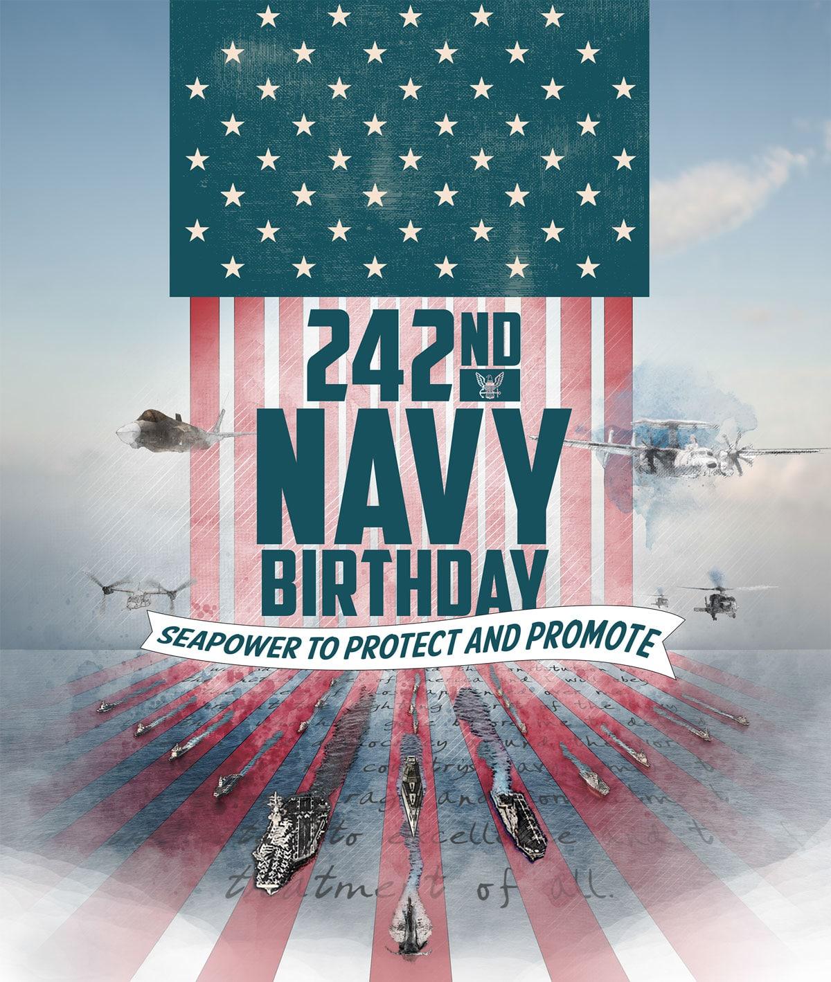 Happy 242nd Birthday, United States Navy!