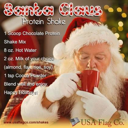 Santa Claus Protein Shake
