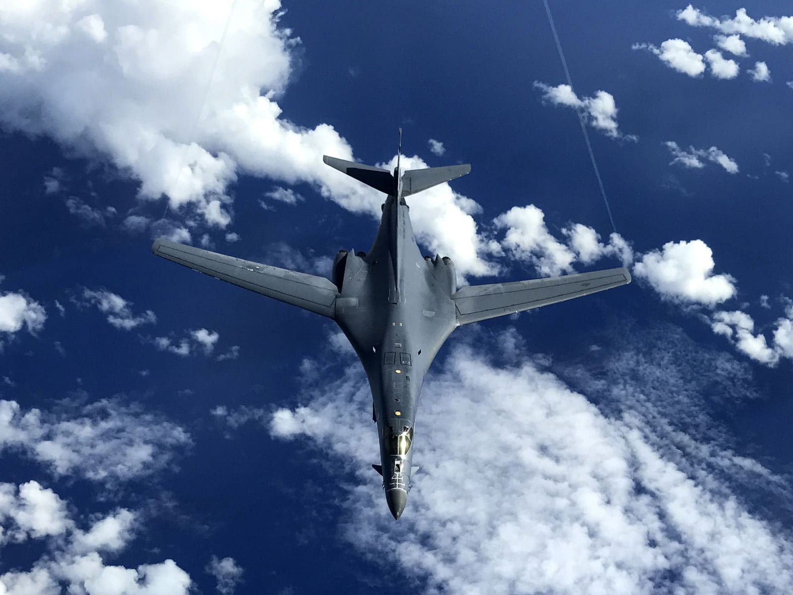 The United States Air Force B-1B Lancer conducted a bilateral training mission with Royal Australian Air Force Joint Terminal Attack Controllers as part of Exercise Black Dagger, a training exercise designed to foster increased interoperability between Australia and the U.S.