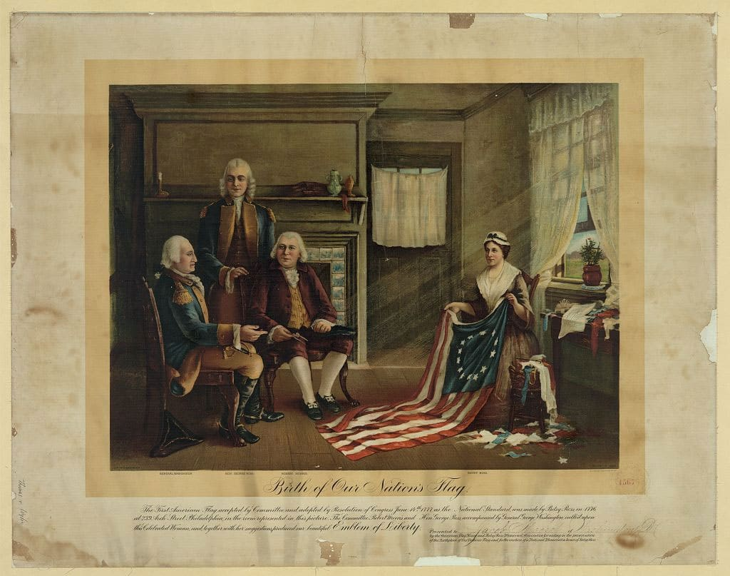 Betsy Ross: The Birth of Our Nation's Flag.