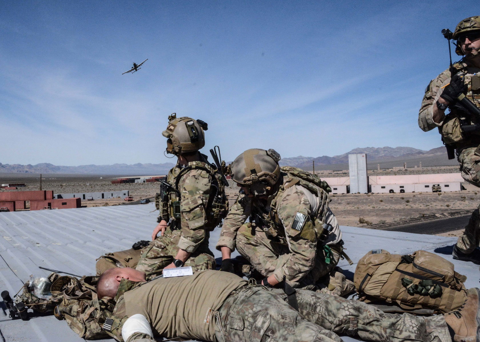 The training integrated the U.S. Air Force Weapons School and included joint, scenario-based training that enhanced tactical experts and leaders with real-world experience in advanced weapons and tactics.