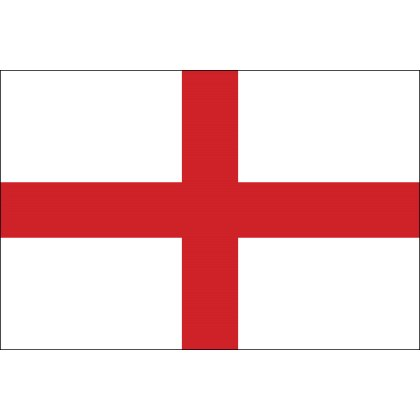 The royal ensign of Henry VII used by Cabot was the Cross of St George flag, which is a white flag with a rectangular red cross extending its entire length and breadth. The Cross of St George, according to the records was used in the Massachusetts Bay Colony in 1634, if not before.