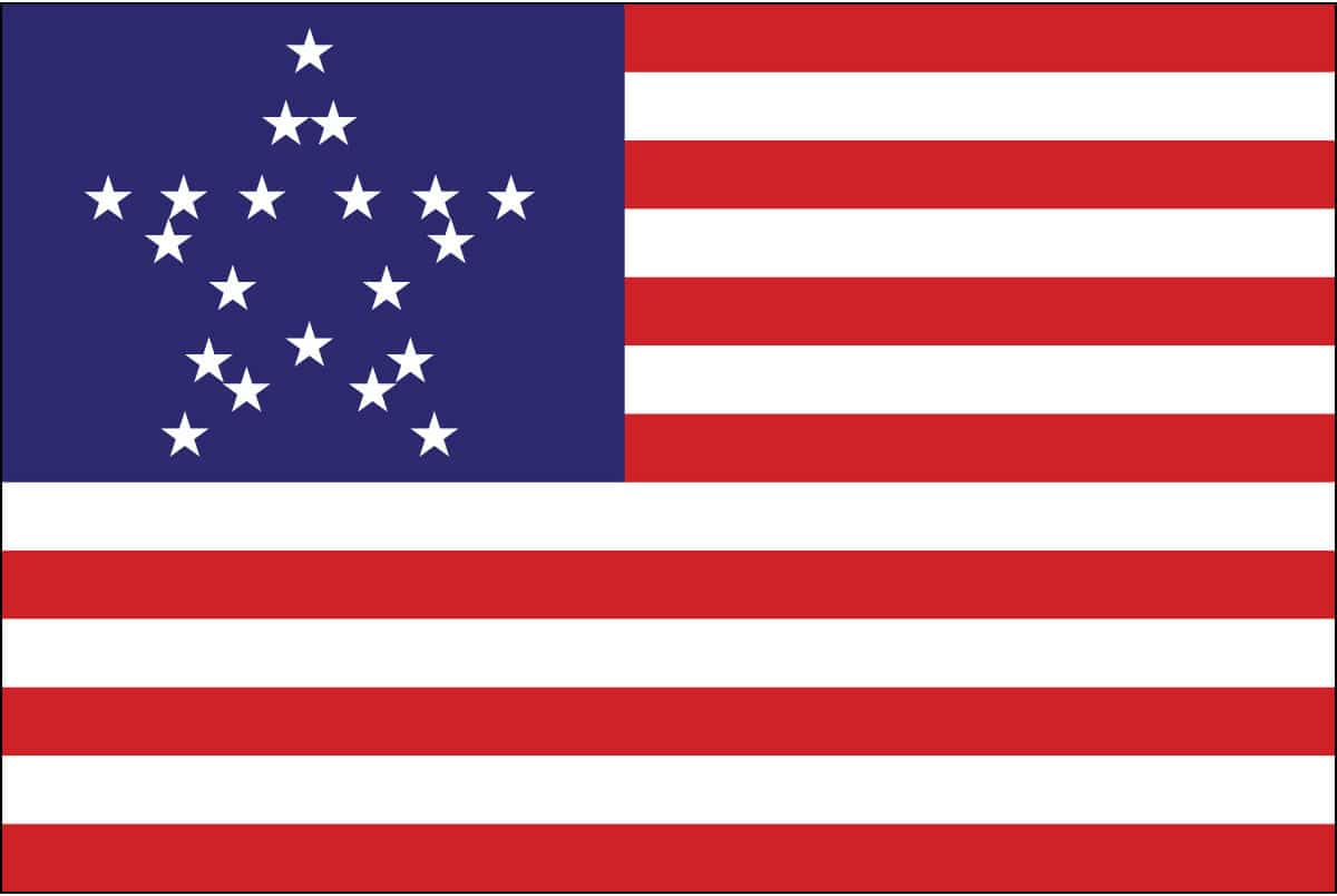 Great Star Flag: History and Design of the One Great Star American Flag.