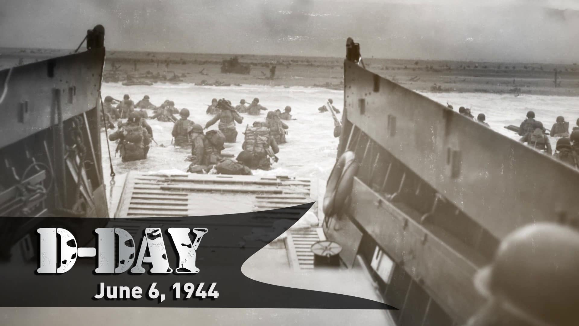 A video commemorating the D-Day Anniversary