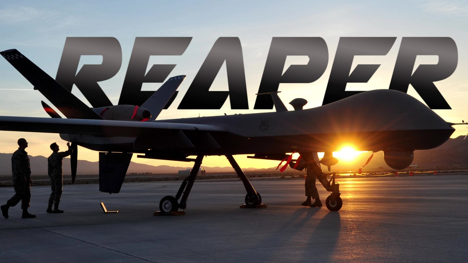 United States Air Force: The MQ-9 Reaper