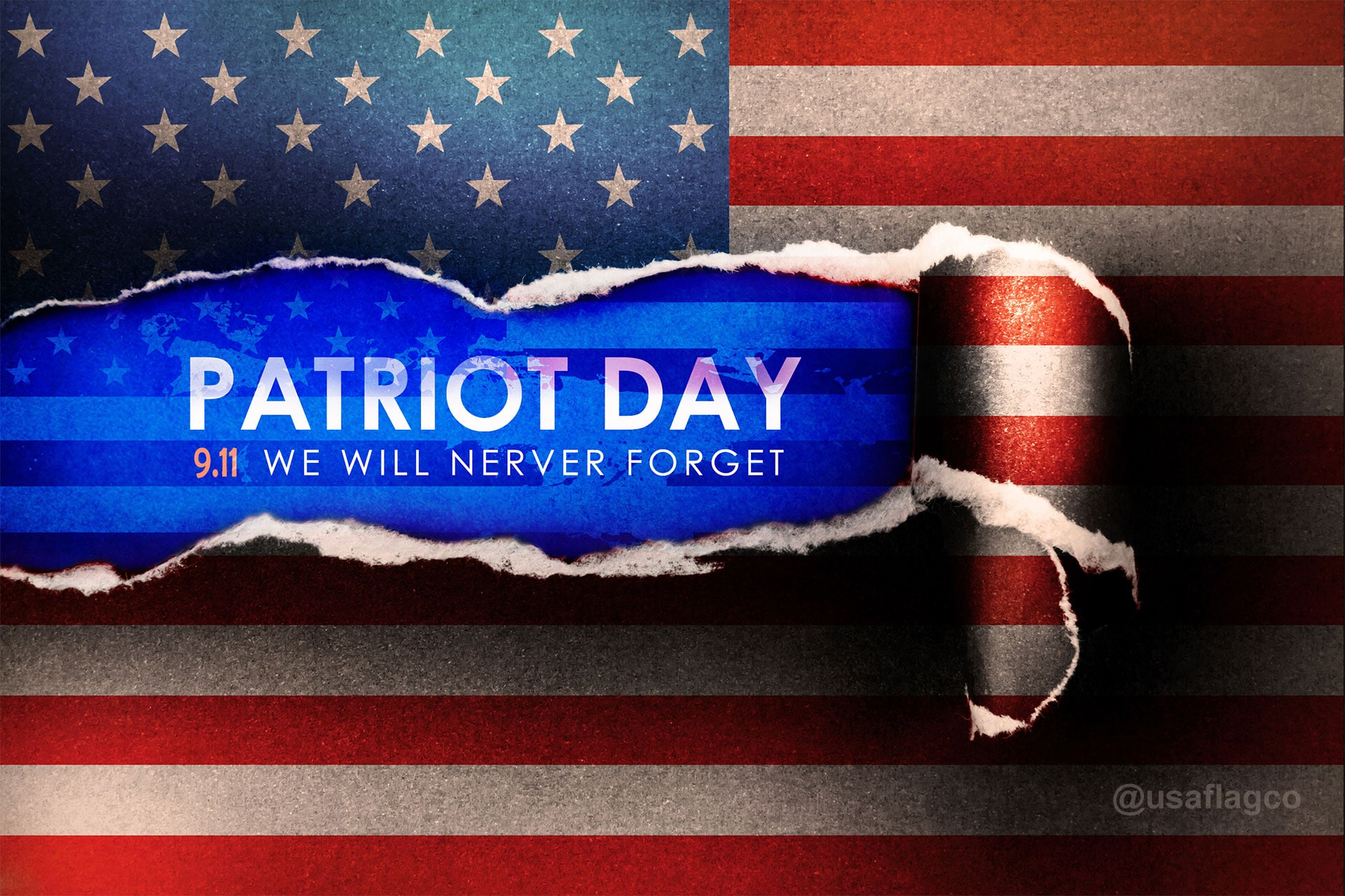 Patriot Day 9.11 -- We Will Never Forget!
