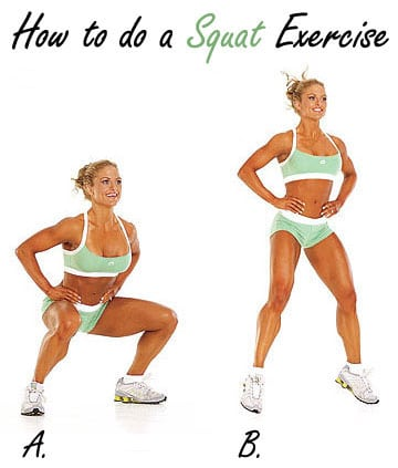 How to do a Squat Exercise