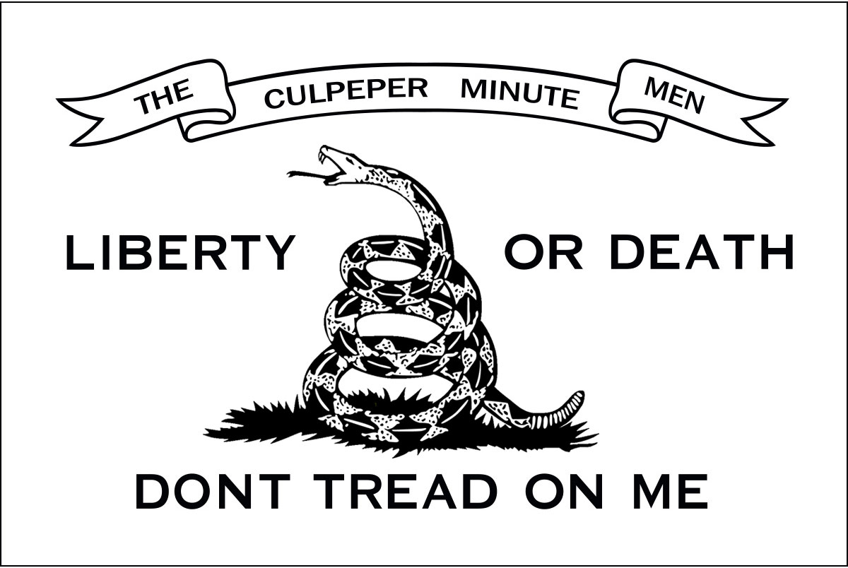 "Culpeper Flag - 1775 ""Liberty or Death"" - USA Flag Co."