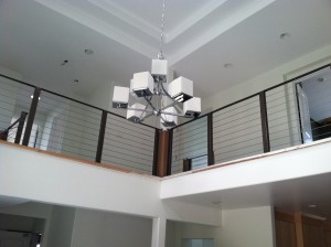image 2 of stainless steel cable railing