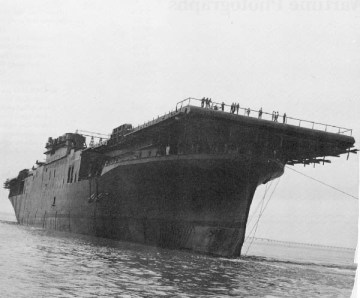 USS Essex (CV 8) Launch, July 1942