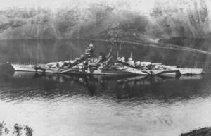Tirpitz in Kofjord, 1943