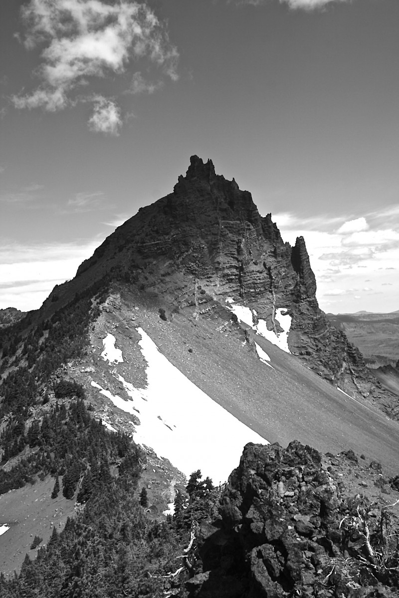Three-Fingered Jack in the Mt. Jefferson Wilderness Area, Oregon