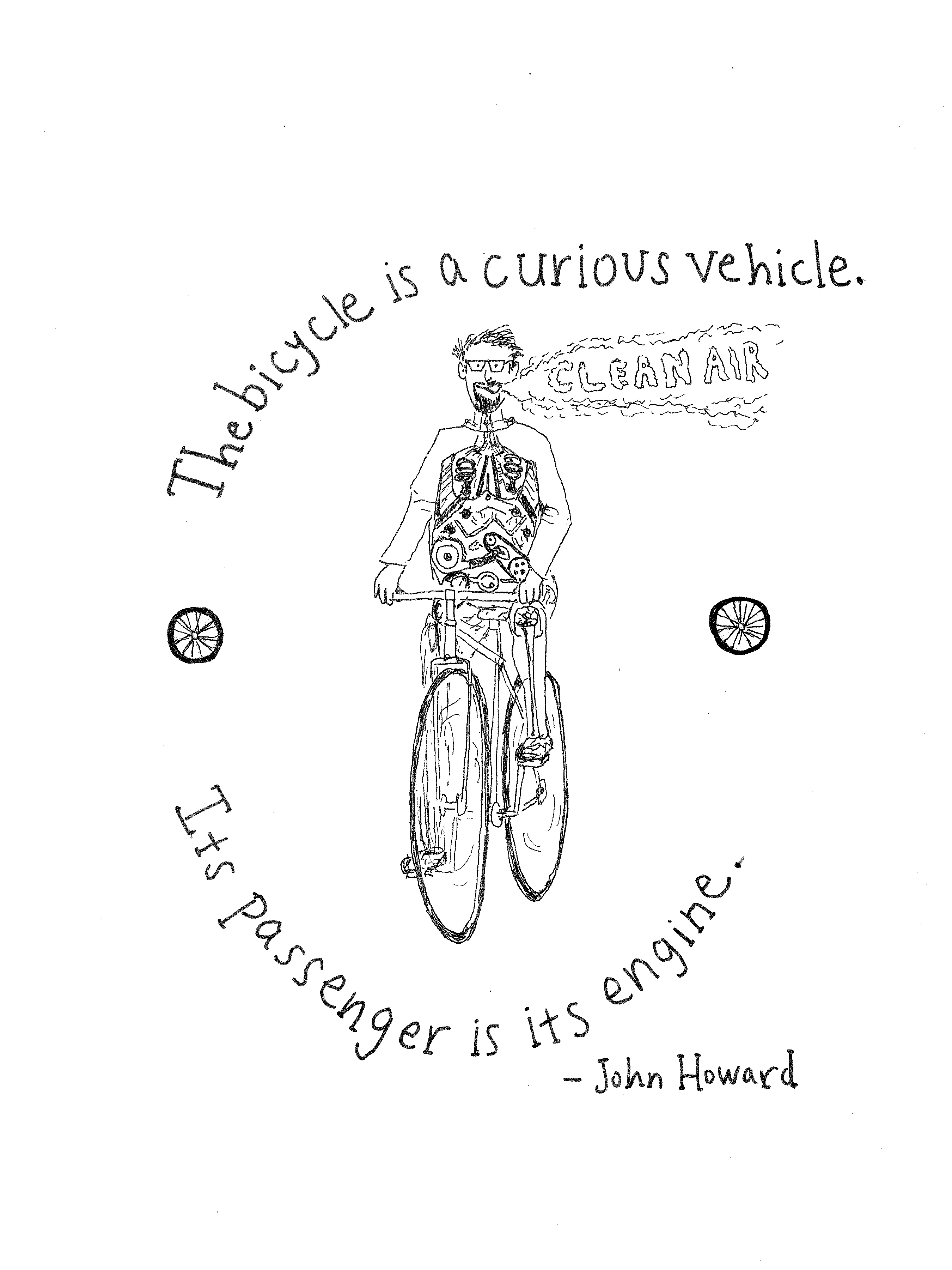 Bicycles, Illustrated