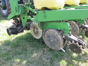 DawnBiologic's ZRX Electro-Hydraulic Roller / Crimper / Row Cleaner invented by PA farmer Charles Martin