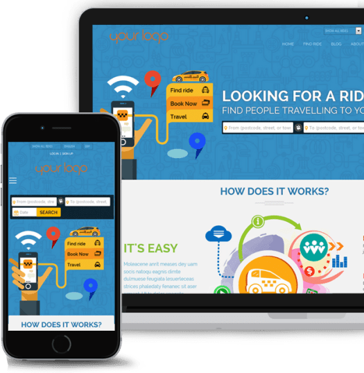 Carpooling Website