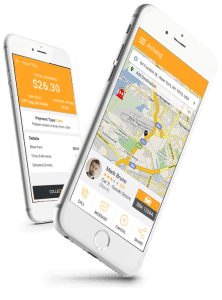 rider and driver app
