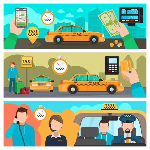 taxi app solution