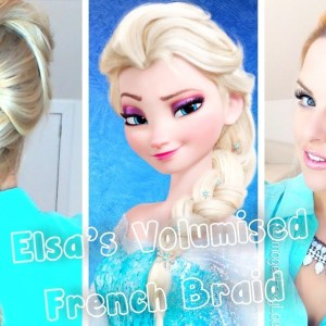 "How to Get Elsa's Braid From ""Frozen"""
