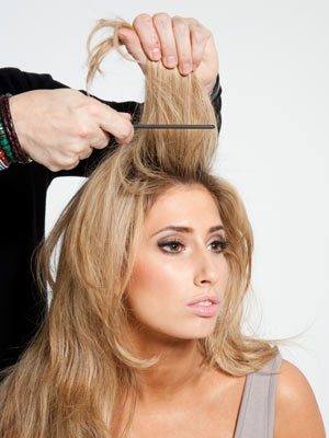 back comb hair style 3 must hacks for styling with shampoo vagaro 8406 | stacey solomon 91