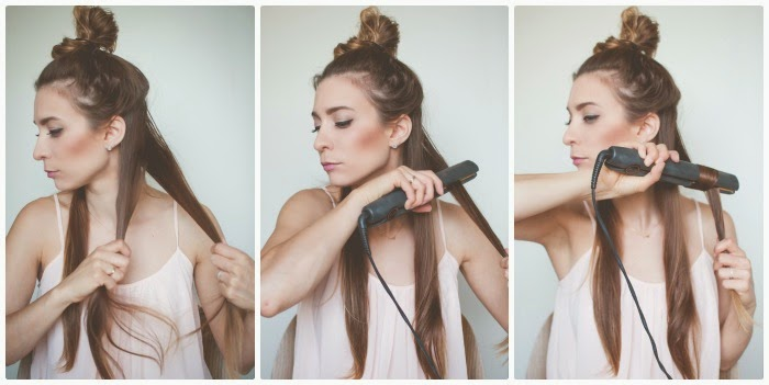 Curling Your Hair With A Straightener Tips For Styling