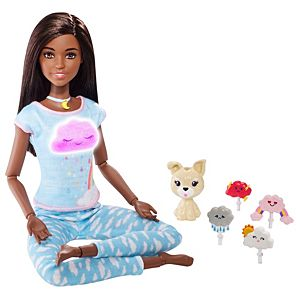 Breathe with Me Barbie and accessories