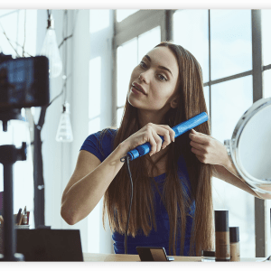 How to Use Live Streaming to Help Clients Manage Their Hair at Home
