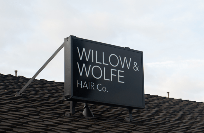 Ecofriendly Beauty: Willow & Wolfe Salon
