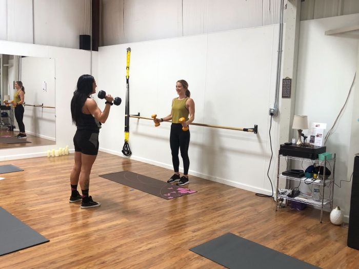one-on-one workout class