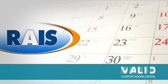 O prazo para entrega da declaração da RAIS ano-base 2011
